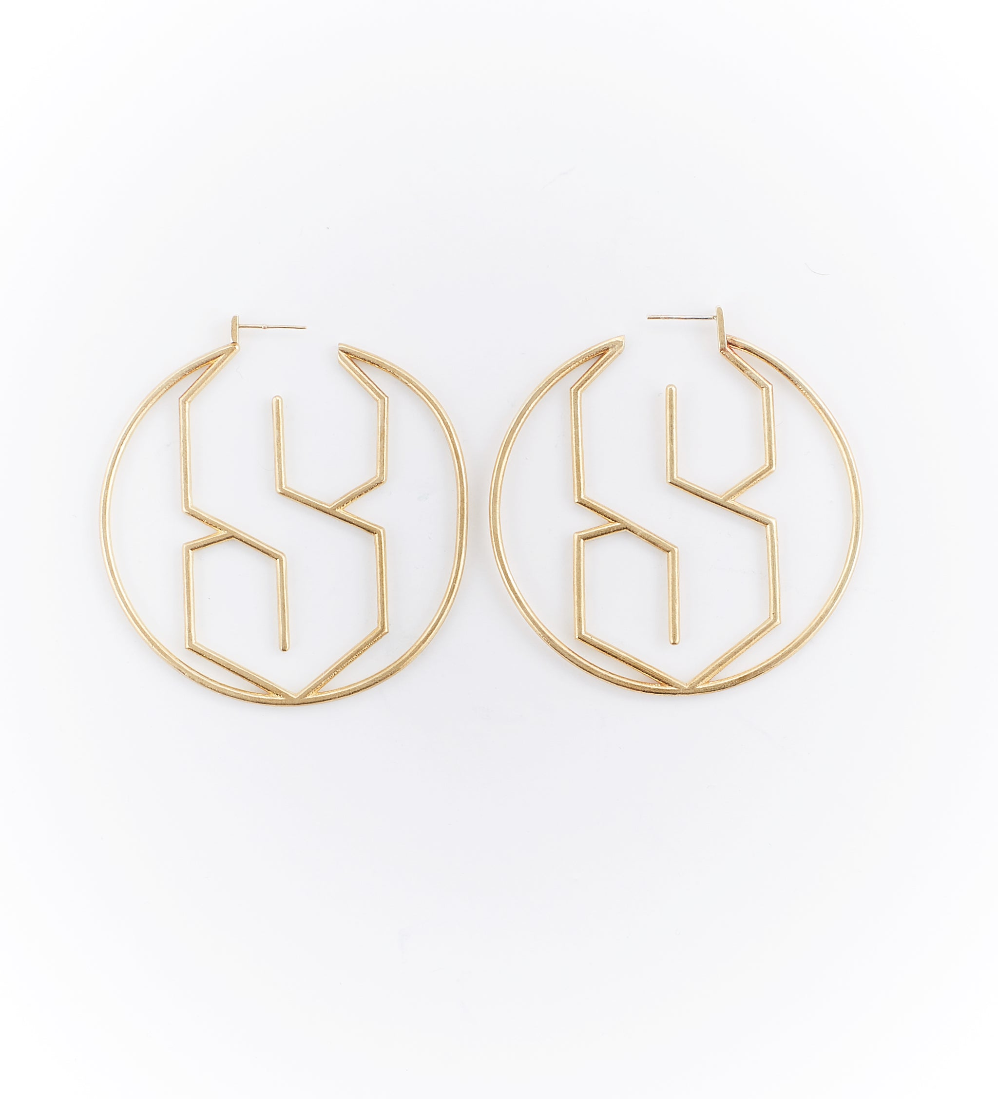 MMNYC.Studio's S Hoop Earrings