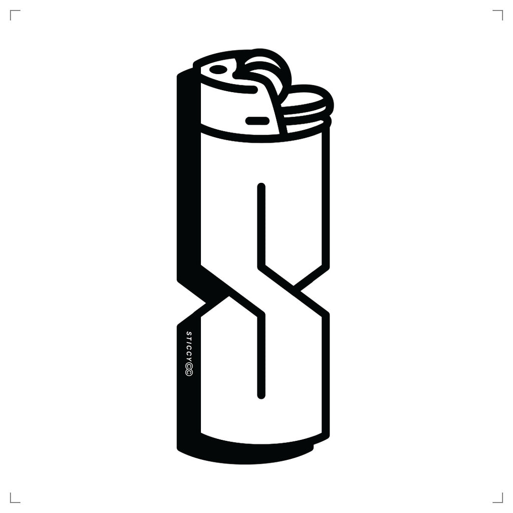 Lighter Sticker