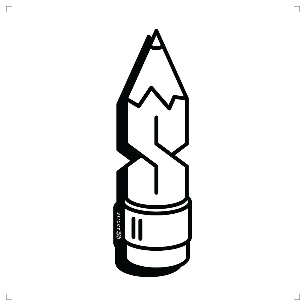 Pencil Sticker