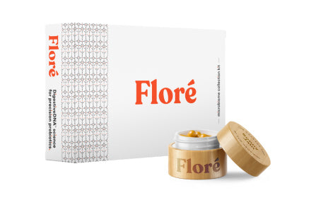 Monthly Floré: Microbiome Test & Personalized Probiotics