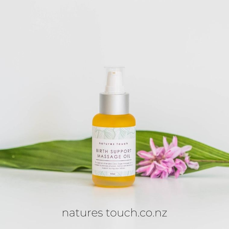 Birth Support Massage Oil   |  50ml