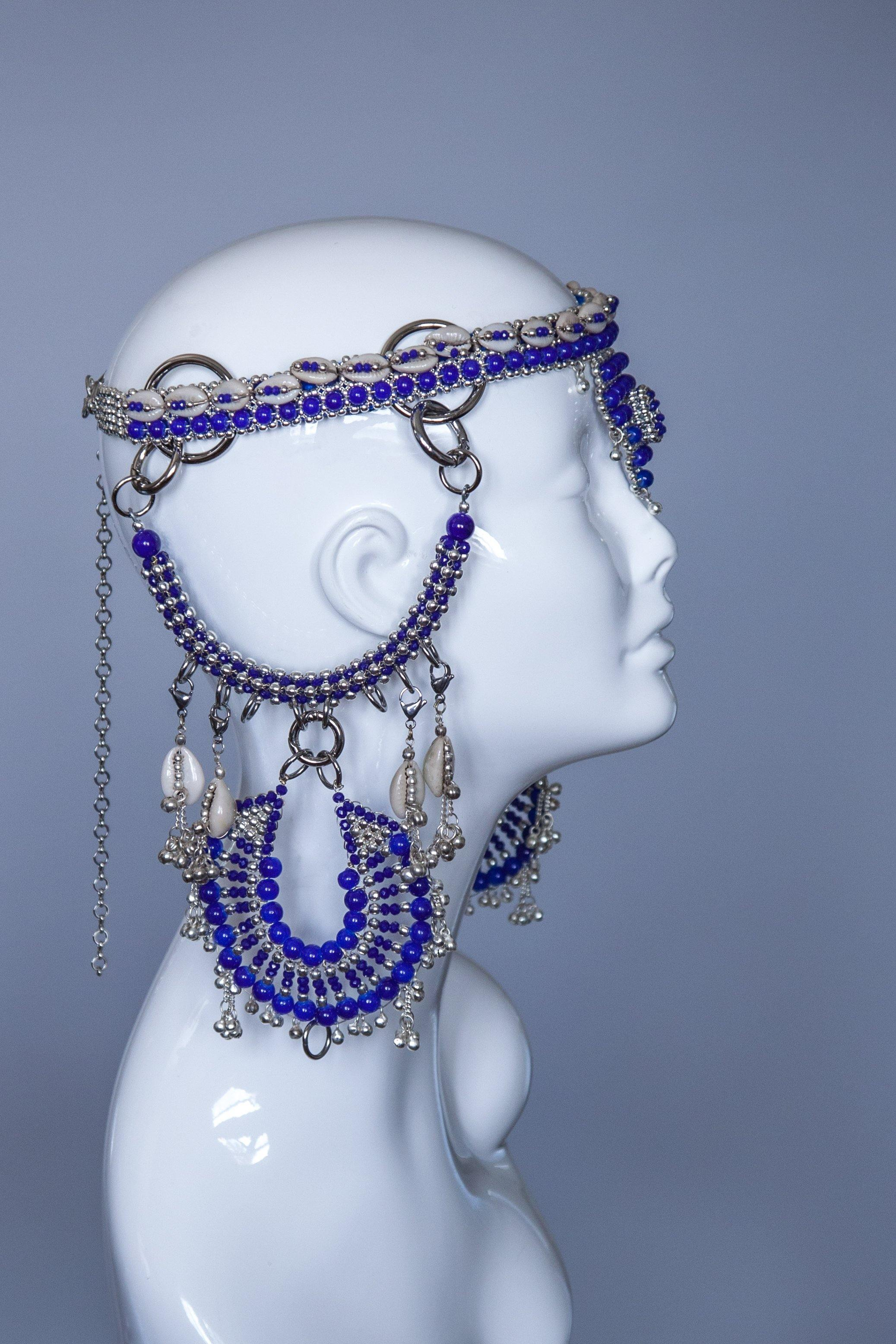 Rushi Modular Headpiece System- Blue