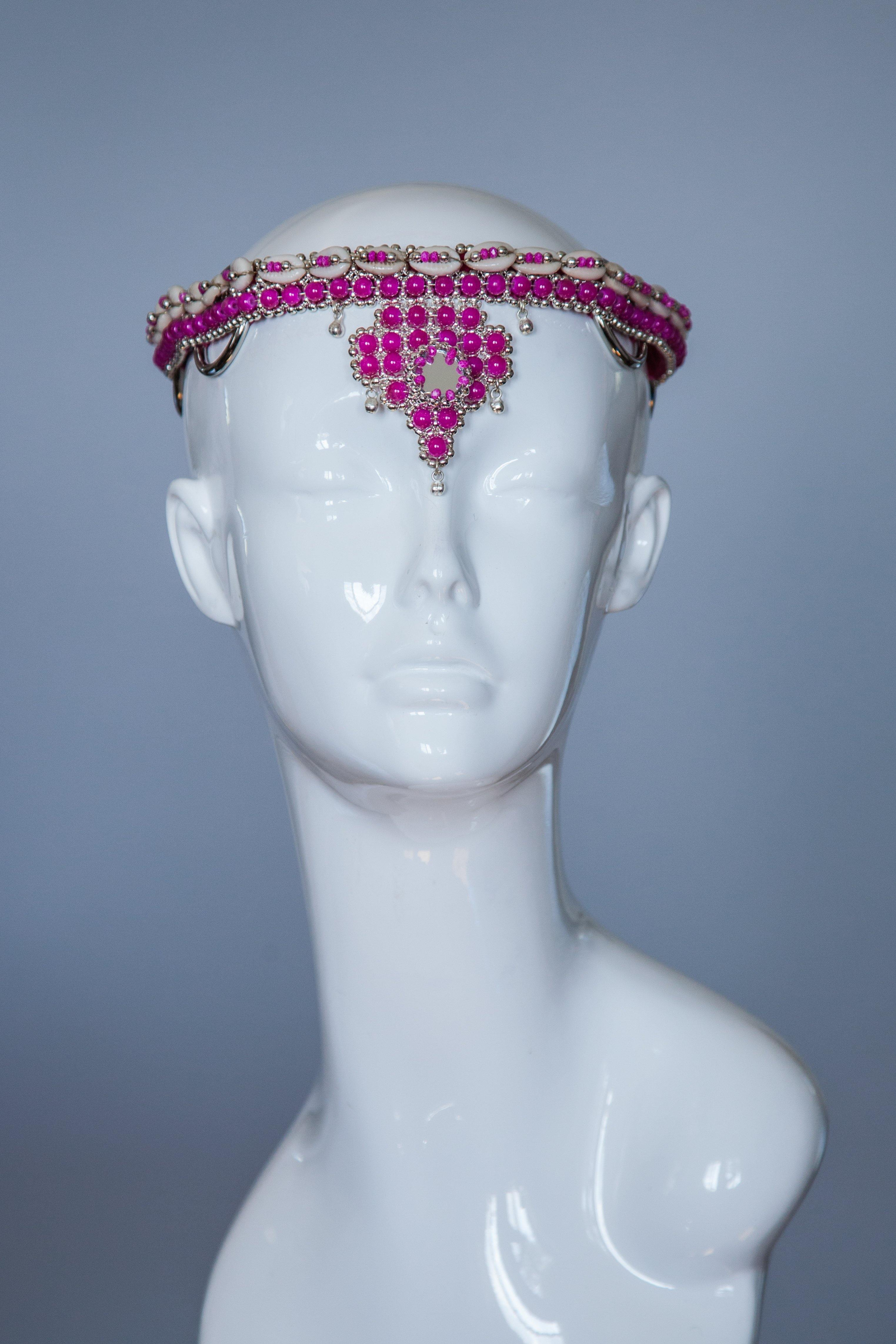 RUSHI Modular Crown -Pink