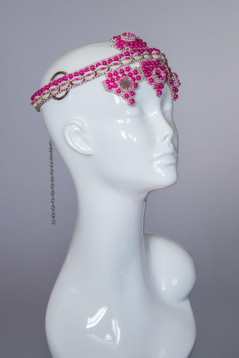 Elohim Modular Headpiece System - Pink - Object & Dawn