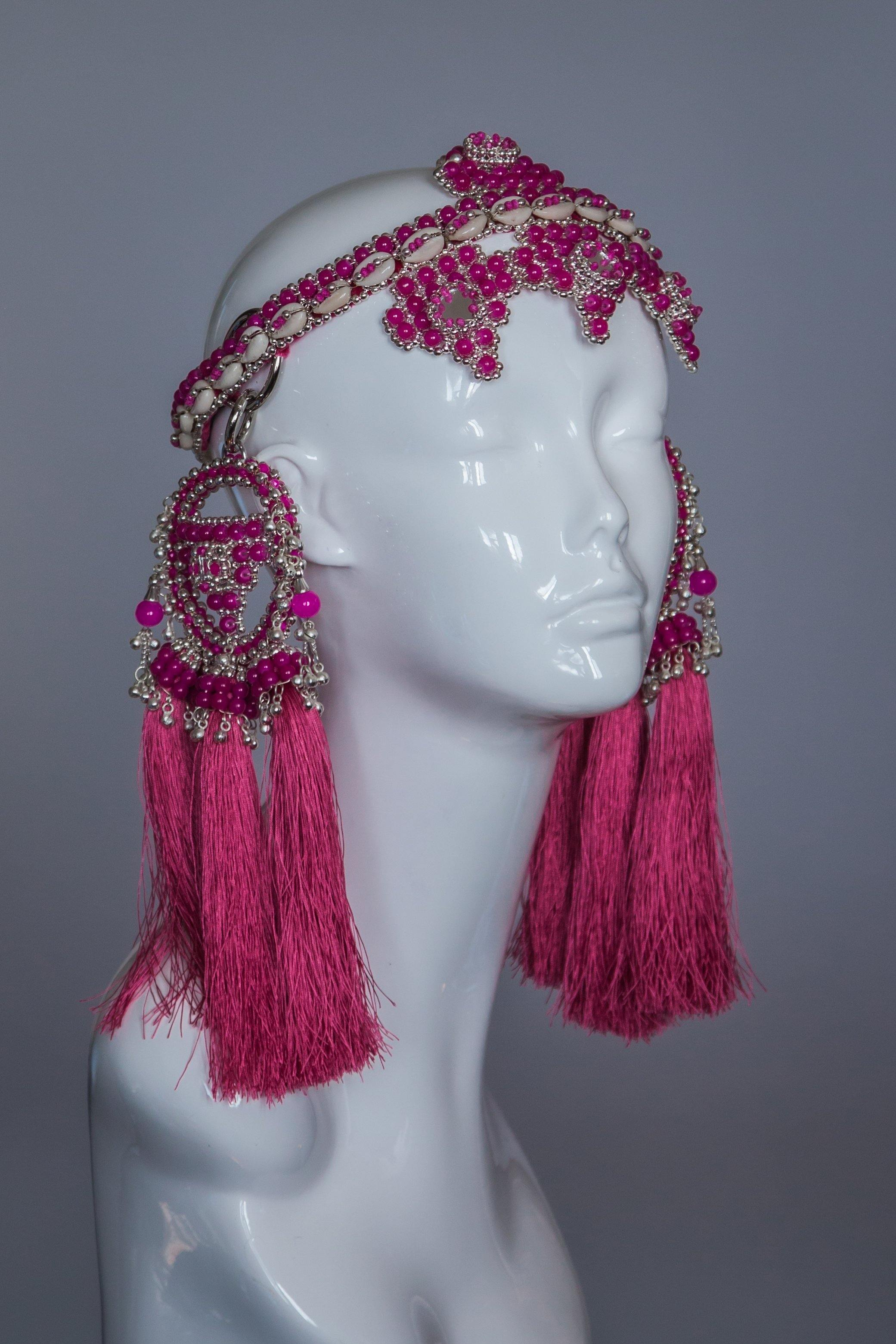 Elohim Crown with ANAIS Medallions  - Pink