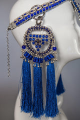 Elohim Crown with ANAIS Medallions - Blue - Object & Dawn