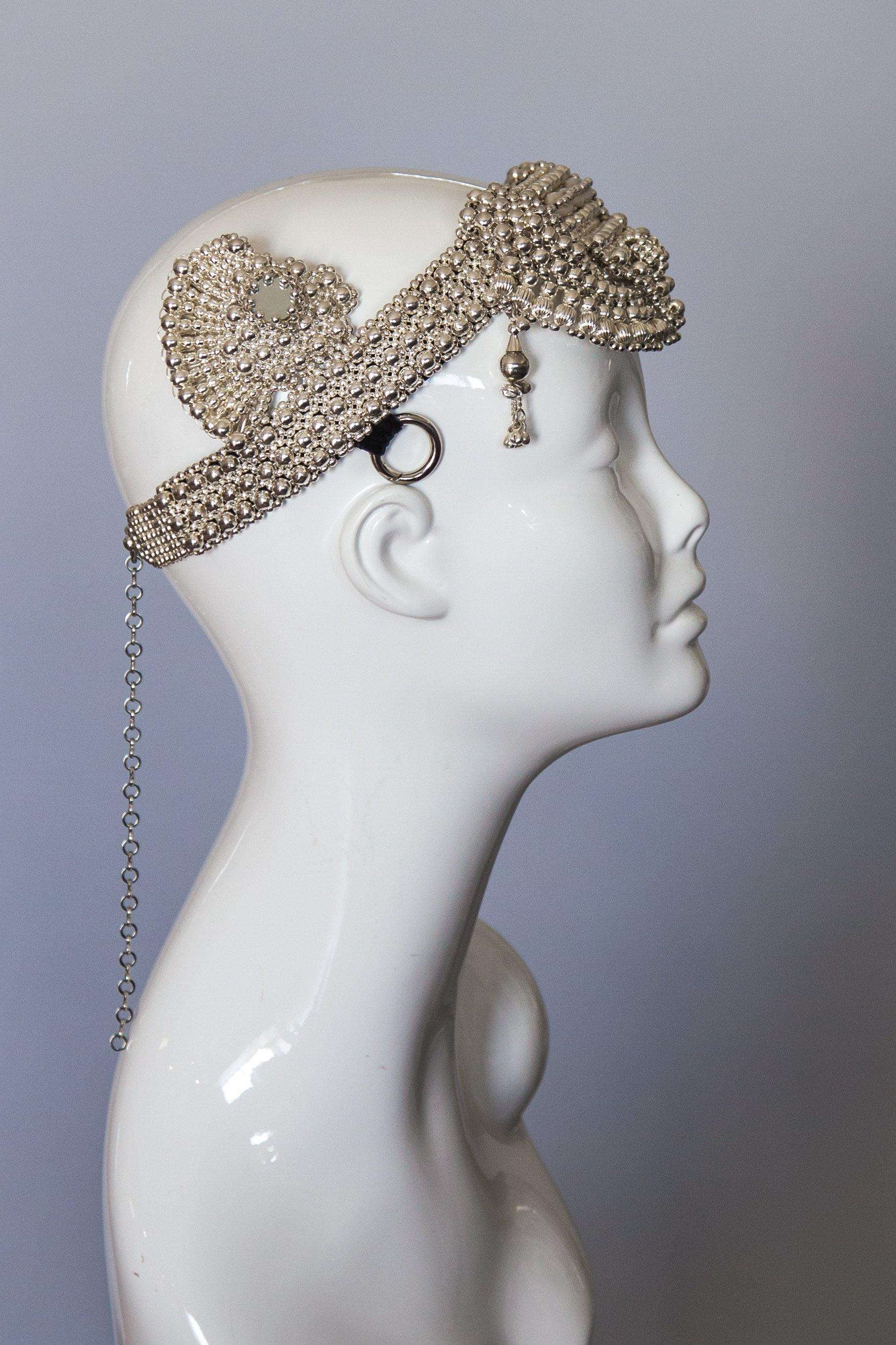 Anais Modular Headpiece System- Stainless Steel