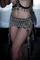 Elohim Modular Garter Belt w/ Removable Tassels
