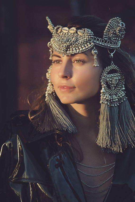 Anais Modular Headpiece System - Object & Dawn