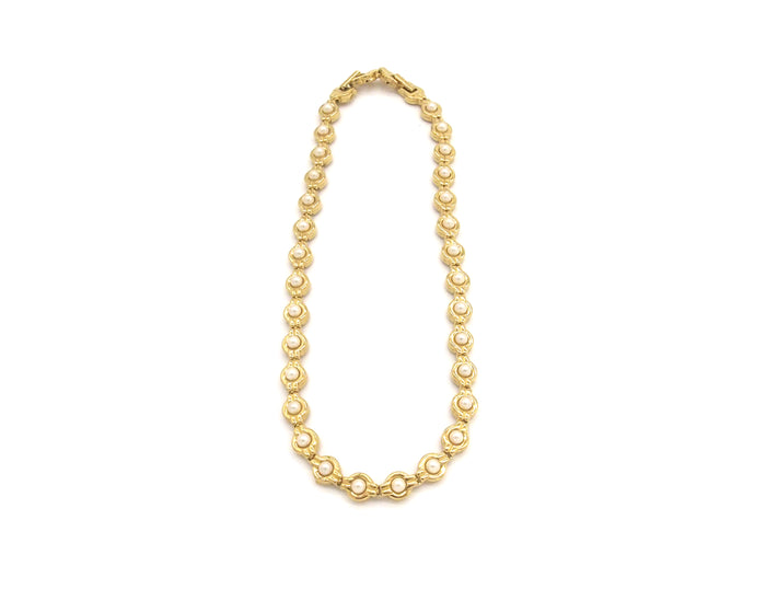 Vintage Jewellery | Necklace - D'Orlan Pearl 1950-60s