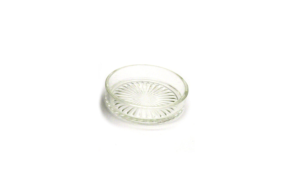 Vintage Silverware | Butter Stand With Engraved Glass Plate