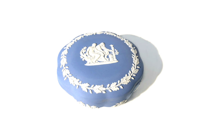 Vintage Ceramic | Wedgewood Jasperware Ceramic Box