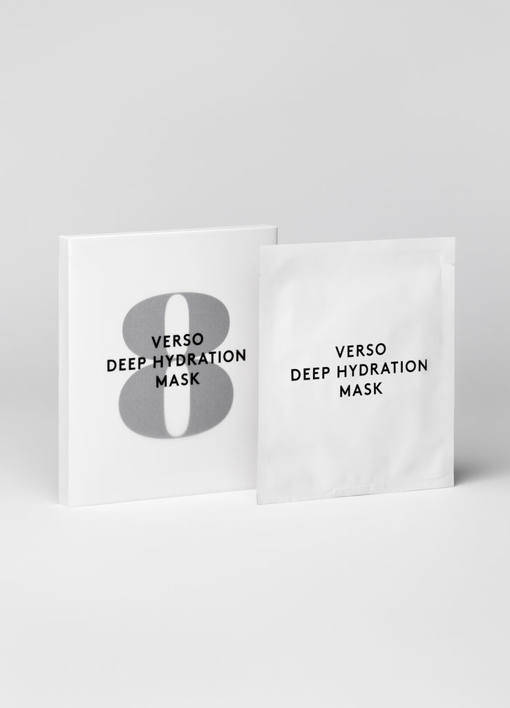 Verso Skincare N°8 Deep Hydration Mask (4pcs)