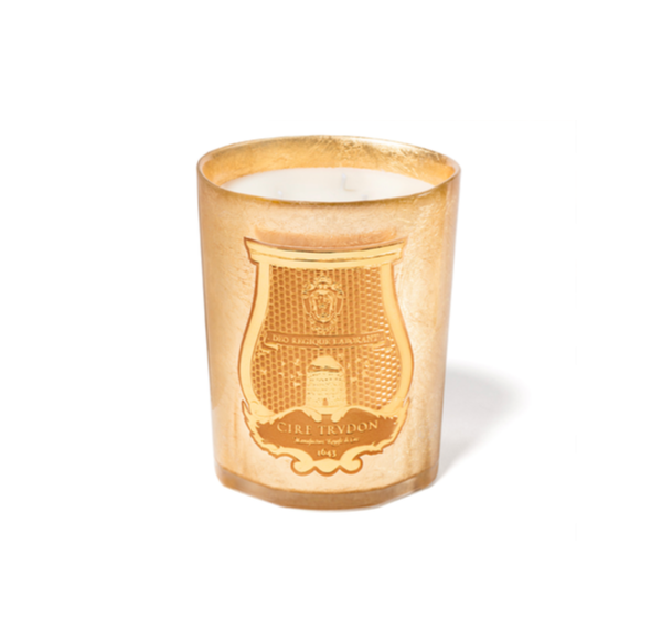 Cire Trudon Classic Candle Gold Collection - Abd El Kader (270g)