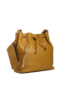 SALE Stella Bucket Bag in Mustard