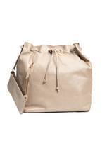 SALE Stelle Bucket Bag in Textured Eggshell