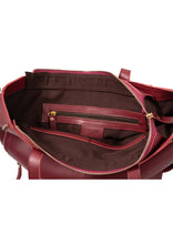 SALE Brooklyn Mini Tote in Burgundy