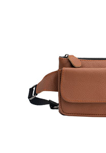 SALE Austin Belt Bag in Camel
