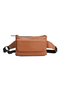 SALE Austin Belt Bag in Caramel