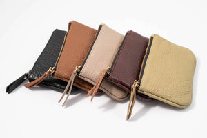Sale Leather Flat Pouch