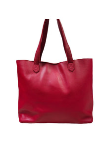 SALE Madison Tote in Candy Red