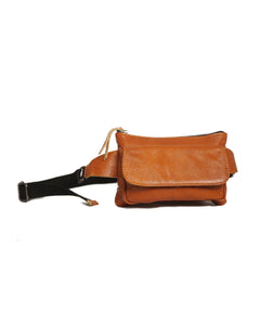 SALE Austin Belt Bag in Cognac