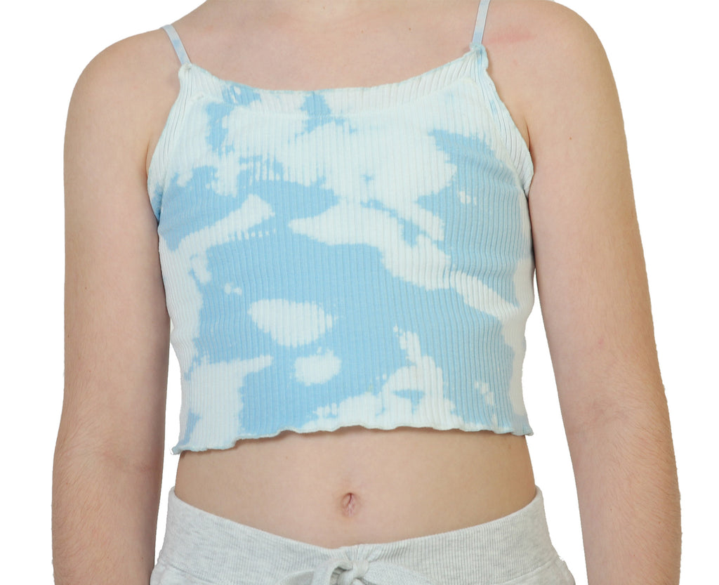Cloud 9 Rib Cami - Pale Blue