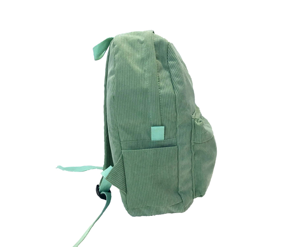 Corduroy Backpack - Mint