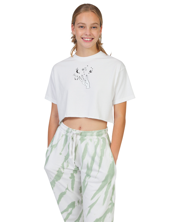 Astrology Major Crop Tee