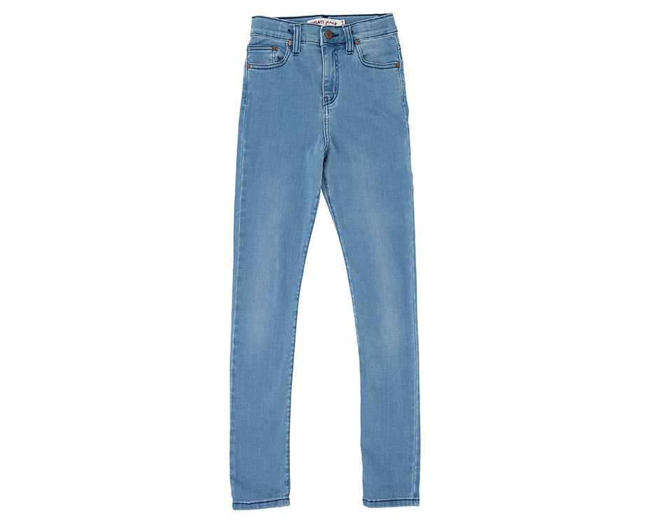 Jessie Pale Blue High Rise Jean