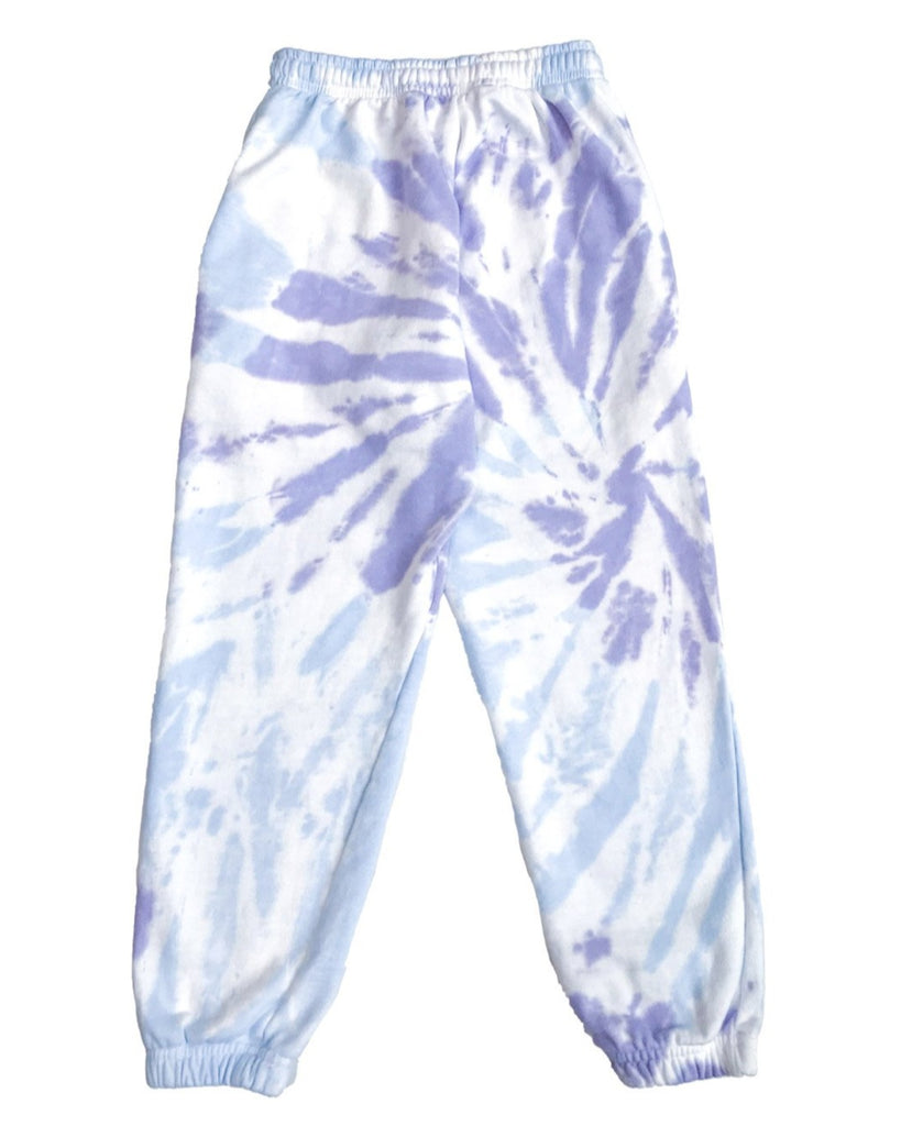 Blueberry Sundae Tie Dye Track Pants