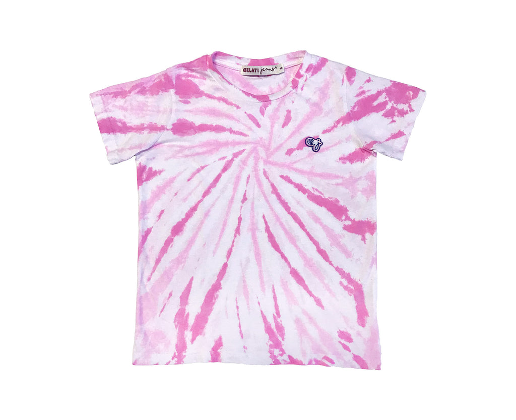 Raspberry Pop Tie Dye Tee