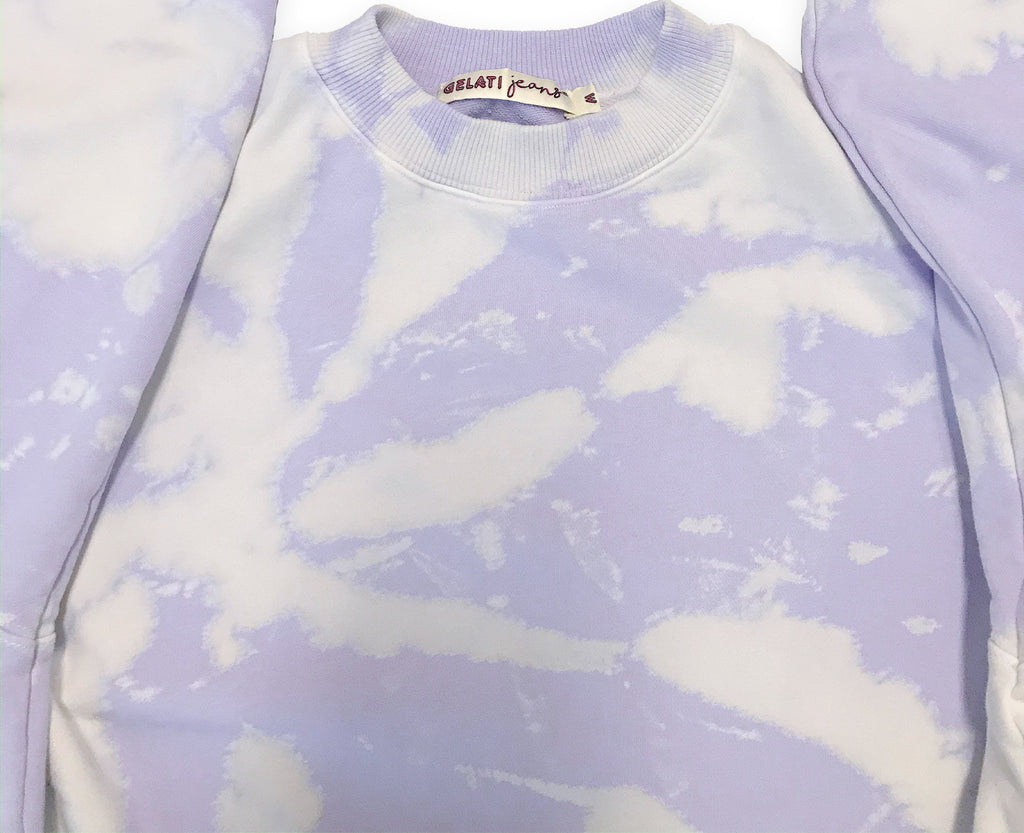 Lilac Swirl Retro Sweat