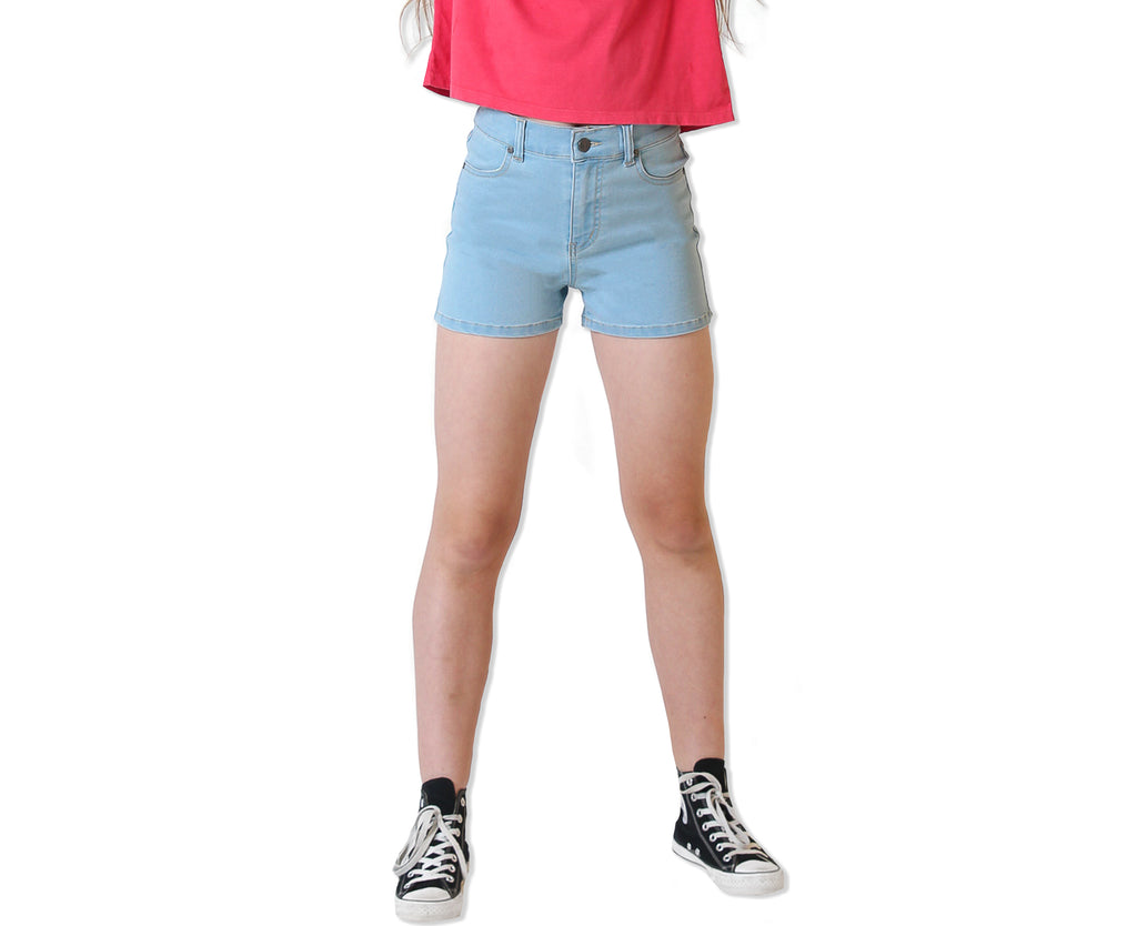 Cara High Rise Denim Short