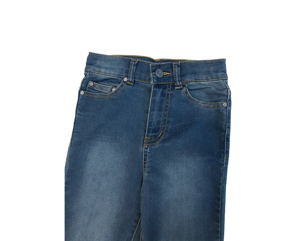 Jessie High Rise Jean - Mid Wash