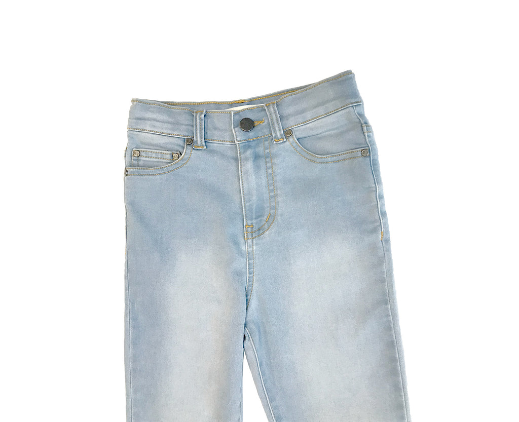 Jessie High Rise Jean - Pale Wash