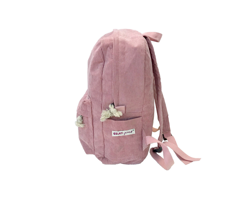 Corduroy Backpack - Blush