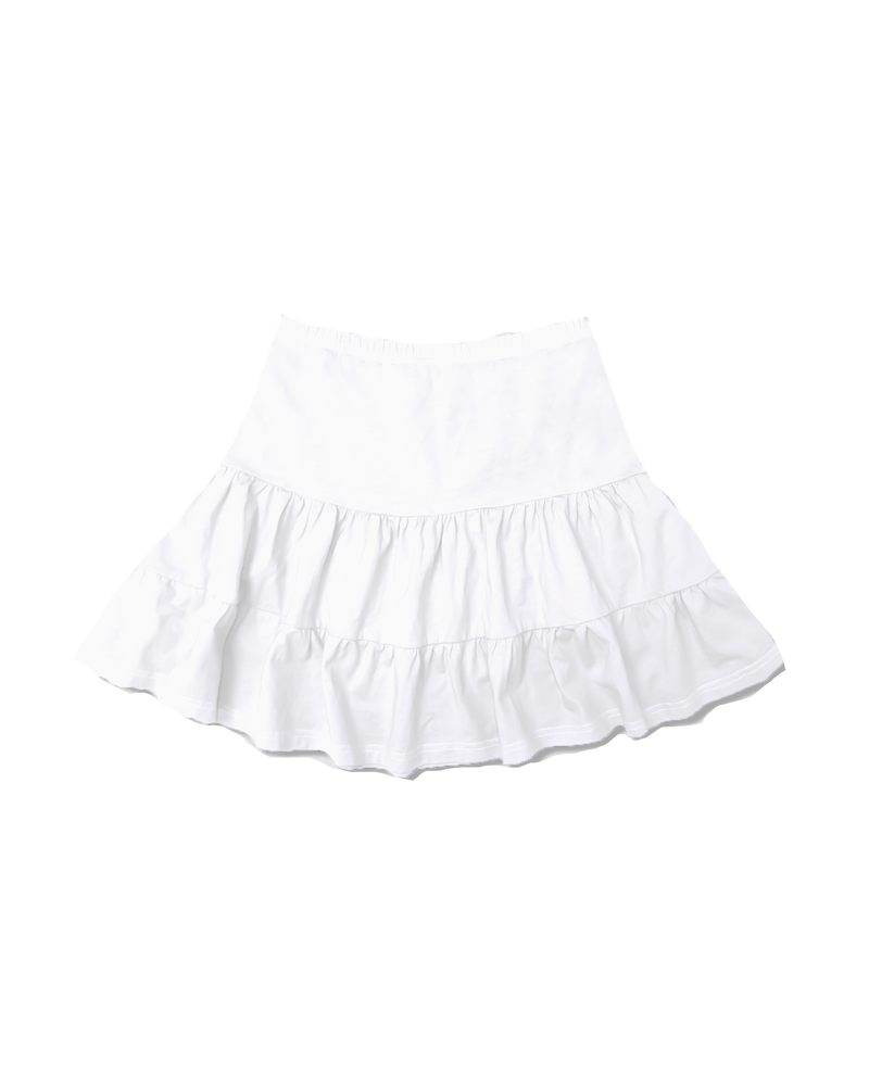 Sarah White Rah Rah Skirt