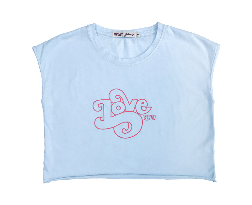 Summer Love Crop Tee