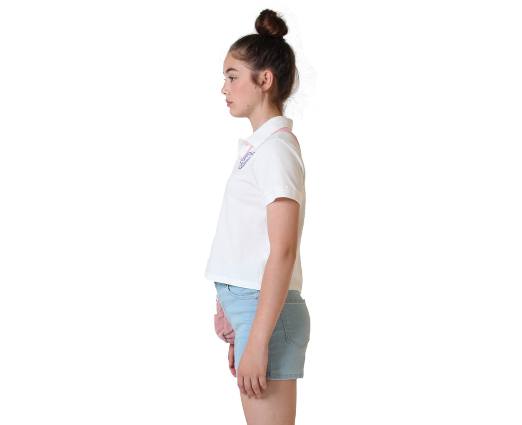 Mischa Patch Polo Top