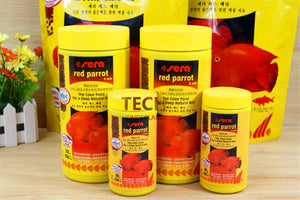 Red Parrot fish Food