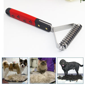 Big Grooming Asymmetric Dog Hair Comb