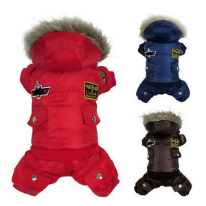 Thick Warm Small Dog Pet Clothes