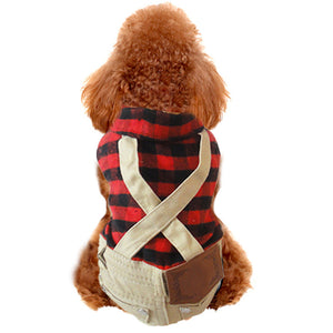 British wind mill Mao Gezi Bib Dog clothes