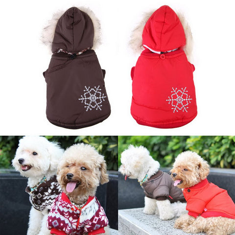 Warm Small Dog Clothes