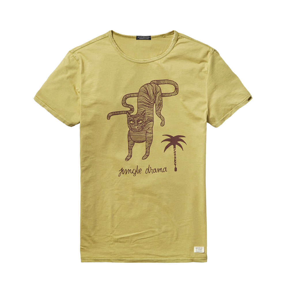 mens jungle drama t-shirt