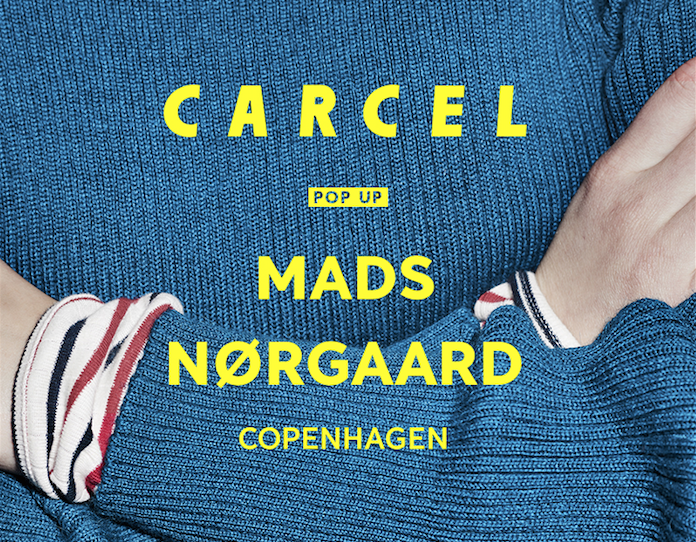 CARCEL POP-UP AT NØRGAARD PAA STRØGET