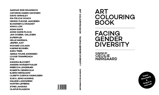 ART COLOURING BOOK: FACING GENDER DIVERSITY