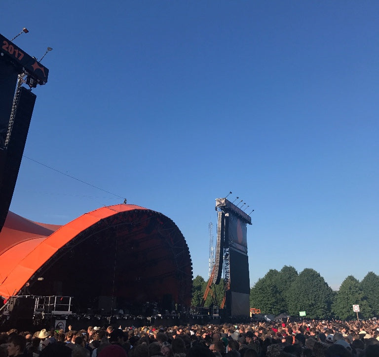 10 YEARS AT ROSKILDE FESTIVAL