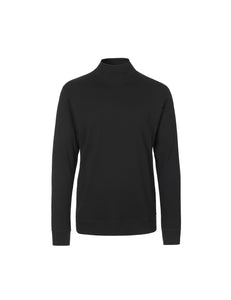You added <b><u>Cotton Rib Stelt Rollneck, Black</u></b> to your cart.